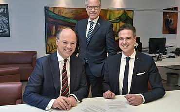 Kooperation zwischen IHK und Hochschule